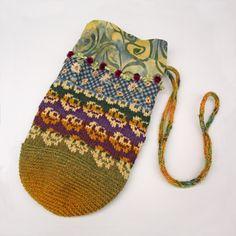 Joy. A folk bag by Peony And Parakeet.