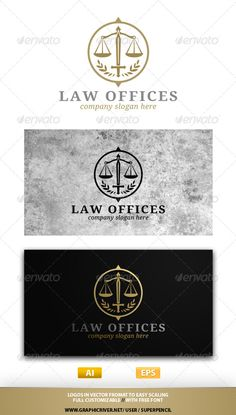 31 law firm logos that raise the bar | Pinterest | Law firm logo ...