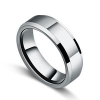 Anillo de tungsteno los amantes del anillo meñique moda de tungsteno anillo para hombre