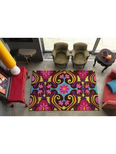 http://www.benuta.de/moderne-teppiche/kurzflor-teppiche/teppich-harlequin-scroll-multicolor.html  Der benuta Harlequin Scroll fängt mit seinem fröhlichen Ornament alle Blicke ein. Handgetuftet aus hochwertigem Polyacryl ist der Teppich von fester Beschaffenheit und unkompliziert in der Pflege. Modern, schick und exotisch: Dieser reich verzierte Teppich vereint alle Eigenschaften, die man für eine trendige Einrichtung braucht.