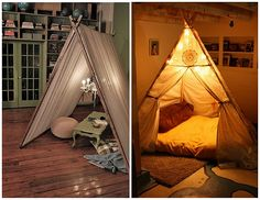 I think everyone needs this in their house. A romantic adult indoor tent & printed canvas tents - rh baby u0026 child | B é b é | Pinterest ...