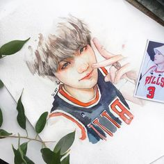 To the owner Bts Art, Kpop Drawings, Kpop Fanart, K Pop, Drawing Reference, Art Inspo, Art Sketches, Watercolor Art, Chibi