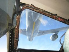 """""""Cleared to contact."""" In a C-5 Galaxy, refueling from a KC-135 Stratotanker."""