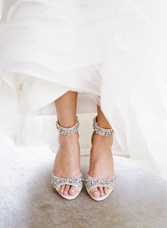 Don't Forget to Break in Your Shoes! | Wedding Day shoe tip via http://www.stylemepretty.com/collection/2103/