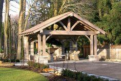 Timber Frame Exterior Design - Normerica Authentic Timber Frame
