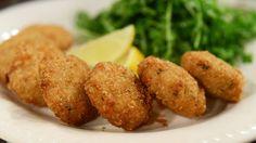 Receta: Alicia Gallach /Croquetas de pescado con salsa tártara