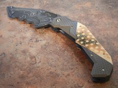 "You're not bulletproof..., Jody Muller / Lance Abernathy Knives - ""Monster..."