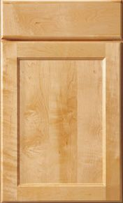 Mid Continent Lewis Maple Natural, wood center, Adams, veneer center.  One color lighter