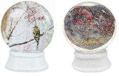 "Pack of 6 Tammy Repp Lighted Color Changing Nature Snow Globe Glitterdomes by Roman. Save 9 Off!. $60.00. From the Inspirational Gifts CollectionBy artist Tammy ReppItem #36895Globes feature the word ""Hope"" in red glitter or the word ""Celebrate"" in gold glitter The globes light up and the light changes color from red to green to blue to yellow to purpleConvenient on/off switch on the bottom of the baseRequires 3 button cell batteries - includedDimensions: 3.75""H x 2""W x 2""DMat..."
