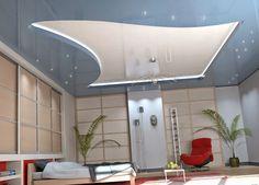 Chambre à coucher-plafonds accrocheurs designs