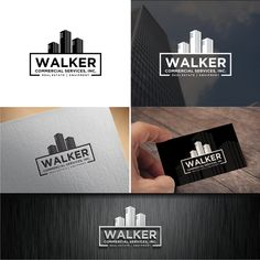 Walker Commercial Services - Design a creative, corporate logo for Walker Commercial Services! We are a commercial real estate firm in Virginia that needs a corporate style logo. We cater primarily to the banking.
