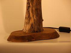 Treibholz Leuchte Tischlampe BALTIC GRAIN - Unikat Made in Germany, Massives Holz von der Ostsee in Handarbeit – LED – Tischleuchte: Amazon.de: Handmade