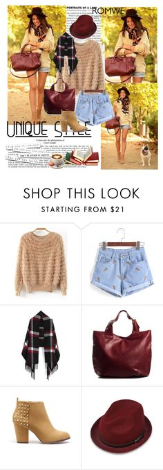"""""""Romwe 8/Iv"""" by merima-p ❤ liked on Polyvore featuring Pieces and Pull&Bear"""