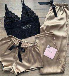 Cute Sleepwear, Sleepwear Women, Lingerie Sleepwear, Lingerie Set, Lingerie Dress, Luxury Lingerie, Nightwear, Mode Outfits, Fashion Outfits