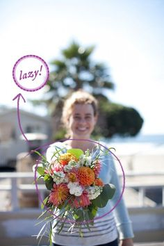 How To Make a Trader Joe's Wedding Bouquet: from A Practical Wedding