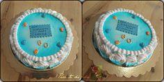 60th's Father Gabriel cream cake ...