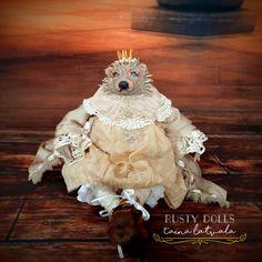 Hedgehog Art, Art Dolls, Lion Sculpture, Statue, Sculptures, Sculpture