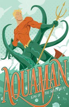 Aquaman - Mike Mahle