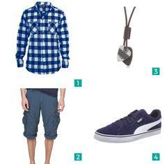 """Männer Outfit """"Sommerparty """". Auf mensway.de findest Du viele verschiedene Outfits für Männer."""