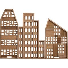 Urban Landscape Decor - The 3-Piece Row House Set from CB2 Brings the Cityscape Indoors (GALLERY)