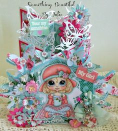 Something Beautiful By Julie: Guest Design Spot at My Besties Norwegian Designs Blog