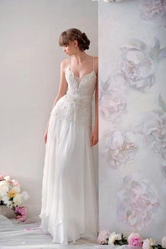 Vintage Wedding Dresses For Sale A Line Vintage Lace Wedding Dresses Vestidos De Fieata Spaghetti Straps Beaded Pearls Hand Made Flower Bridal Gown Formal Designer Bridal Gowns From Wedding_one, $148.78| Dhgate.Com