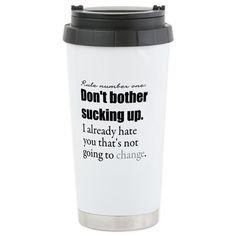 Greys Anatomy Travel Mug on CafePress.com