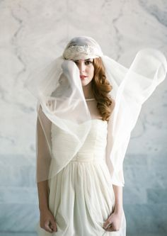 Gorgeous handmade veils from danani handmade on Utah Bride Blog