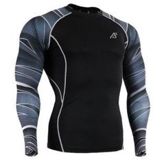 Crossfit, Brazilian Jiu Jitsu, Weight Training MUST HAVE TRAINING GEAR! - Compression Shirt Long Sleeve