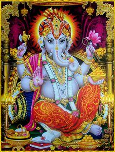 GANESH ॐ Jai Ganesh, Ganesh Lord, Shree Ganesh, Jai Hanuman, Durga Images, Ganesh Images, Indian Gods, Indian Art, Hindu Statues