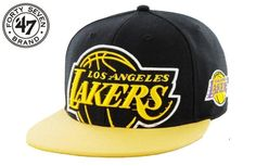 Forty Seven 47 Brand L.A.Lakers NBA Snapbacks Hats 0660! Only $8.90USD