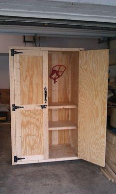 Double Door Tack Cabinet $650