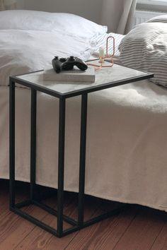 DIY Marble Bedside Table | salz.io