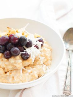 For an inexpensive healthy breakfast, try Instant Pot oatmeal! Delicious, hands off, and ready in no time. Perfect for a school morning!