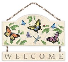 New Day Welcome Wall Plaque