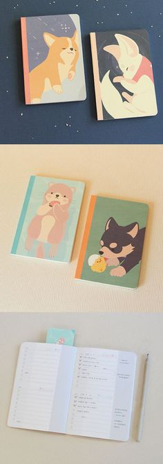 Get in the habit of checking your tasks with the 90 Days Baby Animal To-do Notebook! This adorable notebook is a light and small notebook to help you plan and record your next 90 days by making a checklist! It also features a very cute illustration of a baby animal on the cover to brighten your days.