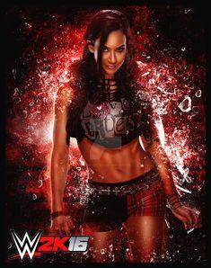 WWE 2K16: AJ Lee by xWreckIntent.deviantart.com on @DeviantArt
