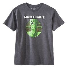 Men's Minecraft Graphic Tee at Target $12.99