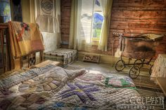 Bannack Ghost Town - Caryn Esplin - Docs Bedroom