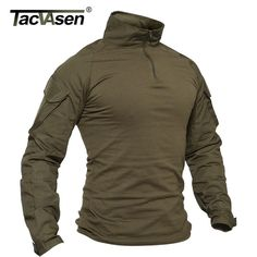 Plus Size Tactical Camouflage Military Uniform Clothes Men US Army Multicam Hunting Combat Shirt Tactical T Shirts, Tactical Pants, Tactical Clothing, Survival Clothing, Uniform Clothes, Tee Shirt Homme, Shirt Men, Polo Shirt, Shopping