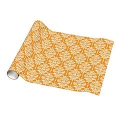 Halloween Creepy pattern wrapping paper