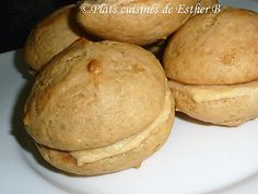 Les plats cuisinés de Esther B: Petits Jos-Louis à l'érable Whoopie Pies, Esther, Mousse, Hamburger, Muffins, Bread, Cooking, Recipes, Food
