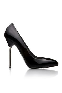 Stuart Weitzman metalic heel