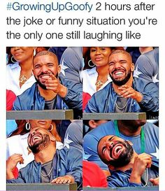 I stayed doing this or not even laughing about it at the time it happened then dying afterwards