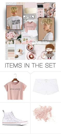 """""""Lucky One"""" by emolu7 ❤ liked on Polyvore featuring art, EXO, kai, kimjongin and 2dibsonkai"""