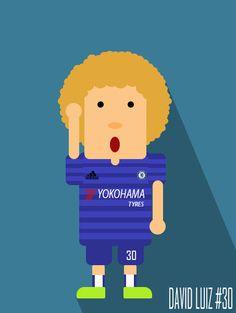 David Luiz #CFC #30 #KTBFFH