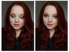 Mint eyeshadow