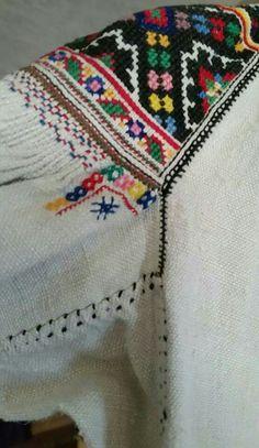 Traditional Boyko apparel, village of Berezhok, Turka Region, first half of the century. Design Research, Folk Costume, Ukraine, Hand Embroidery, Folk Art, Embellishments, Needlework, Weaving, Cross Stitch