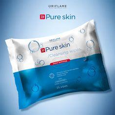 Las nuevas toallitas Pure Skin tienen ácido salicílico, controlan el brillo y al ser antibacteriales y desobstruir los poros, previenen barritos. Si tienes piel grasa, ¡son un básico!