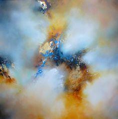 "Saatchi Online Artist: Simon Kenny; Mixed Media, 2012, Painting ""Half Light"""